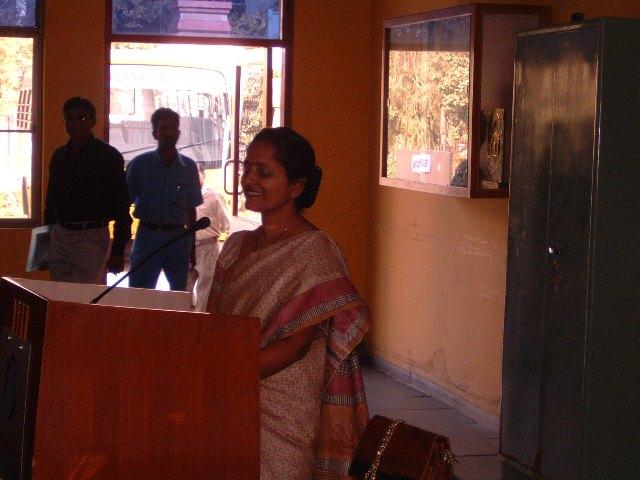 117  Presentation by Ms. Rashmi T. Kumbar