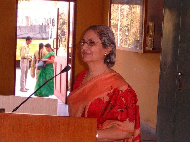 124 Smt. Rhoda Bharucha, Hon. Director, ADINET Speech
