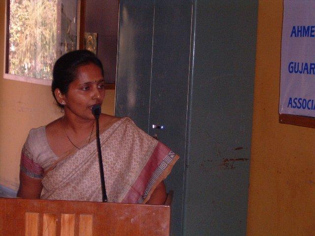 137  Presentation by Ms. Rashmi T. Kumbar