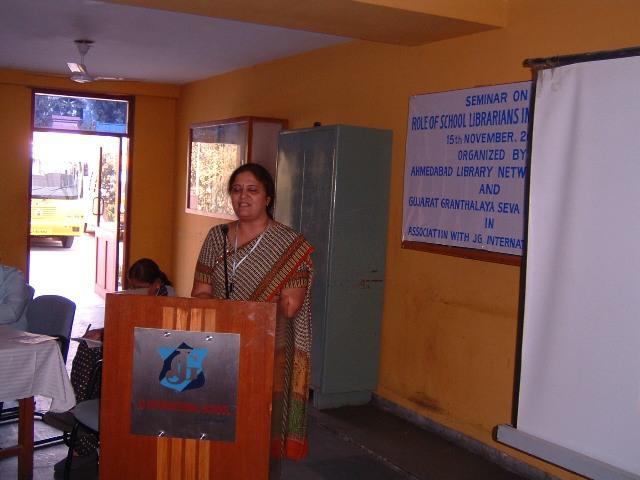 Presentation by Sangita Bhatt @ 2009 J G Int. School