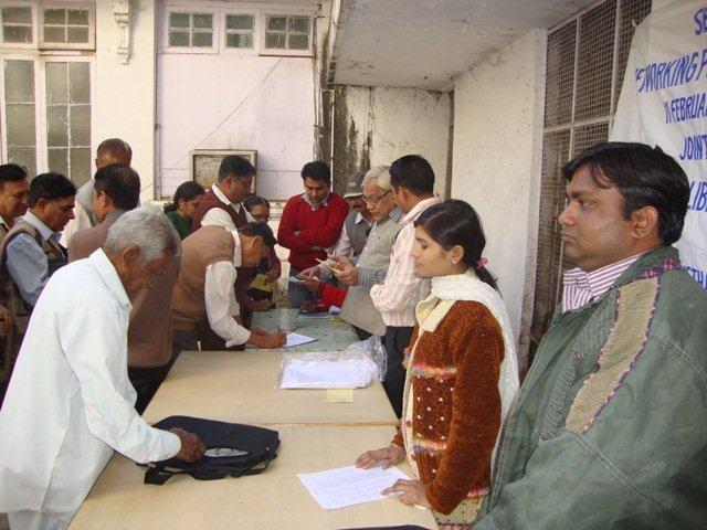 152 Registration on Seminar on Networking Public Libraries in Gujarat.