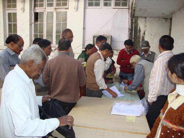 153 Registration on Seminar on Networking Public Libraries in Gujarat.