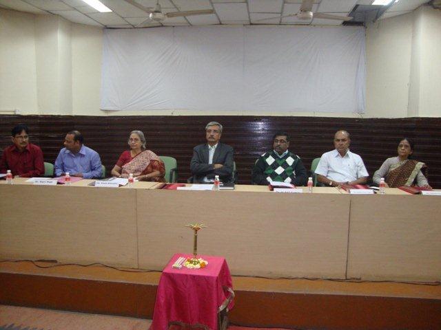 154 Dias Dignitaries at Seminar on Networking Public Libraries in Gujarat.