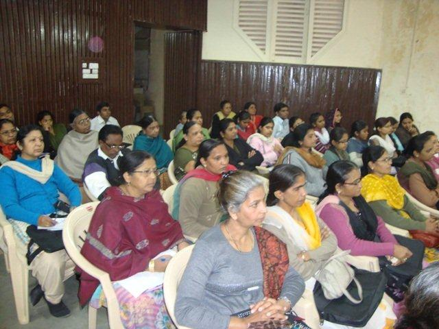 160 Audience at Seminar on Networking Public Libraries in Gujarat.