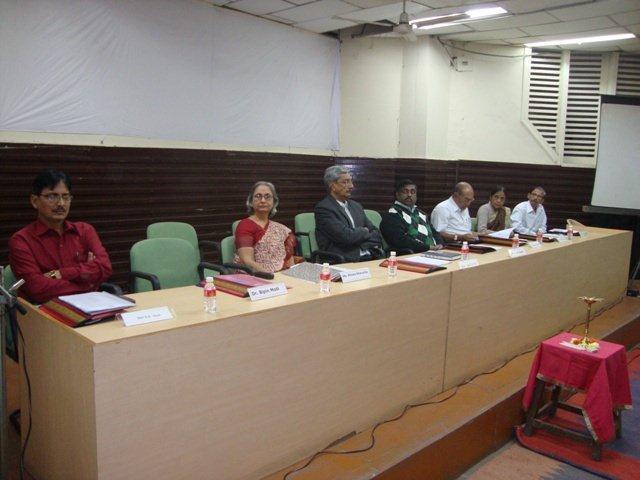 166 Dias Dignitaries at Seminar on Networking Public Libraries in Gujarat.