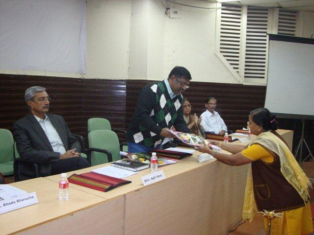 167 Dias at Seminar on Networking Public Libraries in Gujarat.