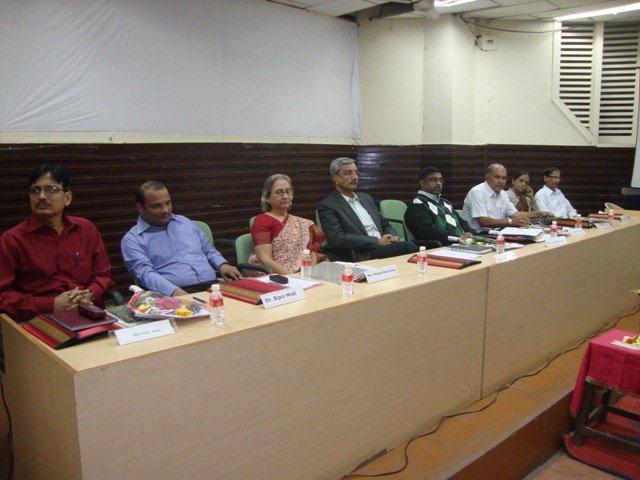 169 Dias Dignitaries at Seminar on Networking Public Libraries in Gujarat.