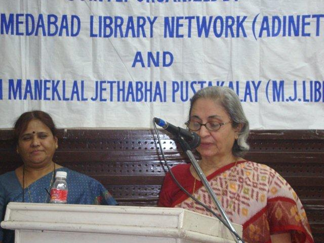 172 Speech by Smt. Rhoda Bharucha, Hon. Director, ADINET