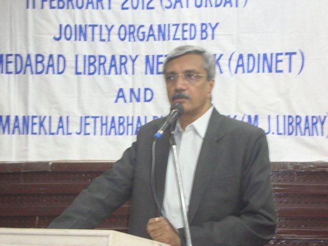 176 Speech by Chief Guest Shri Asit Vora, Mayor, AMC.