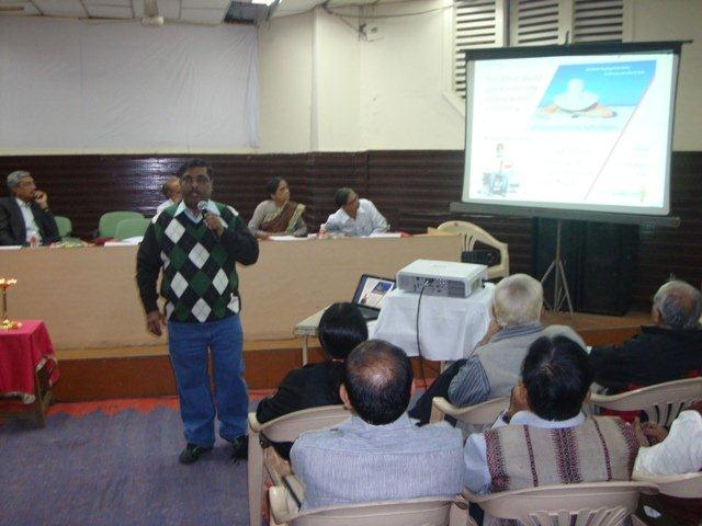 179  Dr. H. Anil Kumar Given Presentation on Networking Public Libraries in Gujarat.