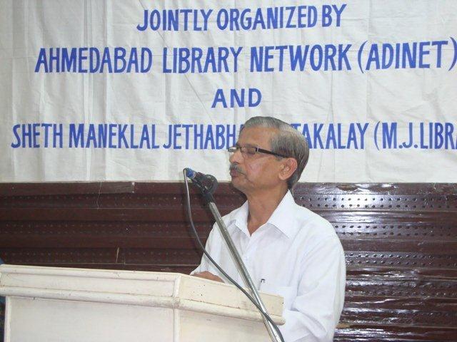 180  Speech by Mr. Satish Deshpande, Librarian -Information Relationship Officer