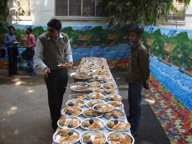 181 Lunch at Seminar on Networking Public Libraries in Gujarat.