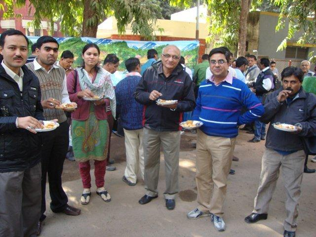 182 Lunch at Seminar on Networking Public Libraries in Gujarat.