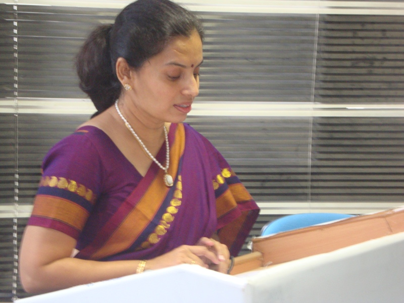 277 Introduction by Ms Sangeeta Purohit, Librarian, AMSOM Library