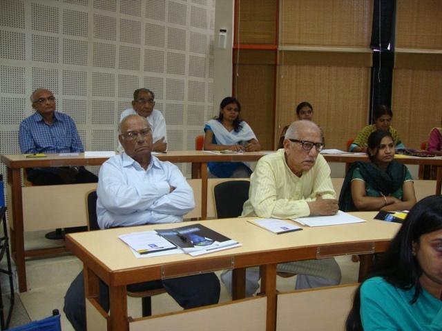3782 Mr. P. C. Shah & Mr. Kirit Bhavsar at MICA