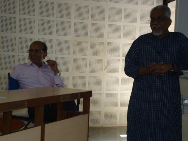 3789  Presentation by Prof. Subhash Tendle, Head - Crafting Creative Communication, MICA